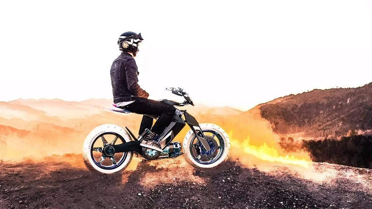Концепт мотоцикла с водяным приводом