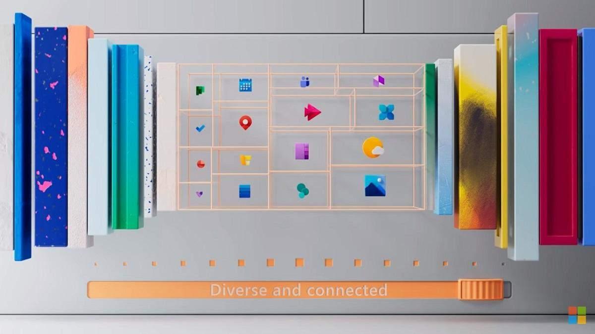 Нові іконки для Windows 10 показали у відеоролику