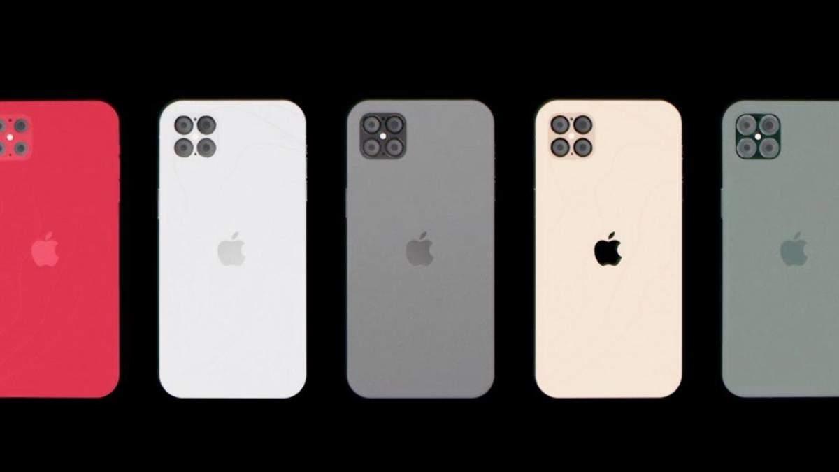 iPhone 12 в рабочем состоянии засветился на видео