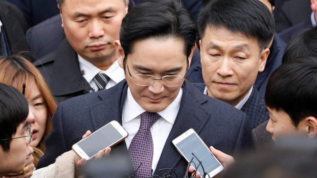Вицепрезидент Samsung Group Ли Чжэ Йон