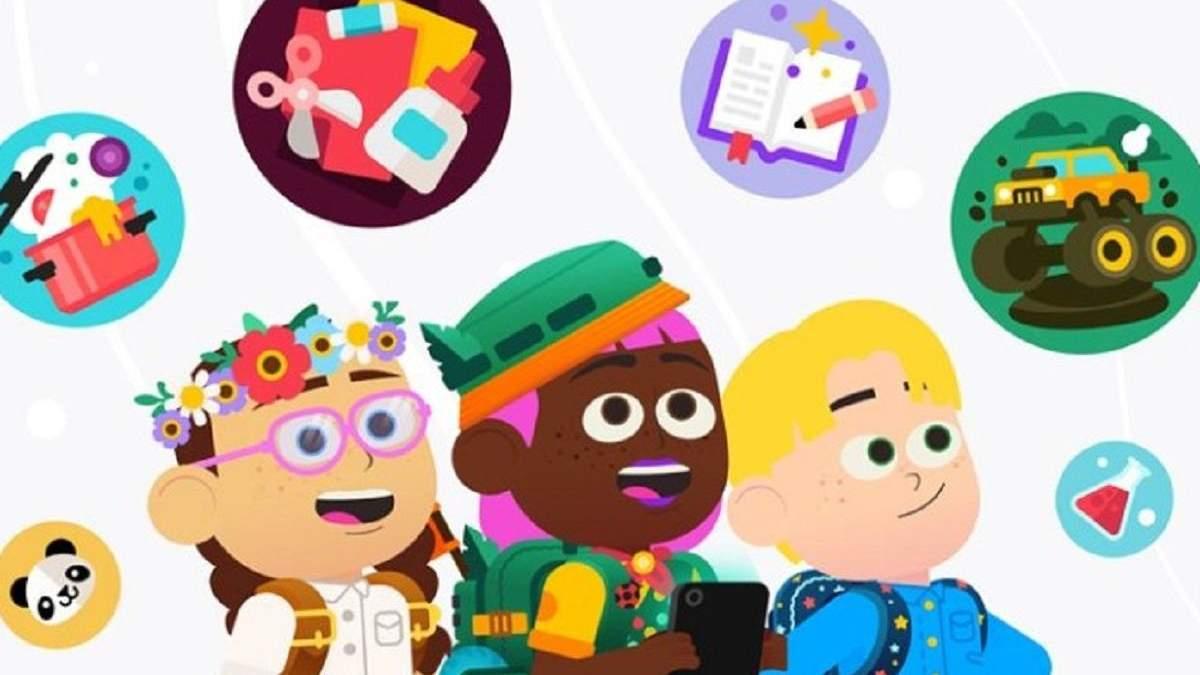 Google запустить спеціальний дитячий режим на Android-планшетах