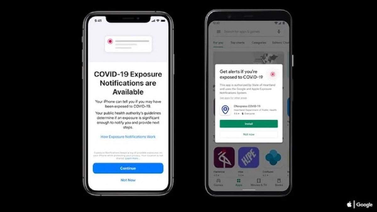 iOS 13.7 получила обновленную технологию Exposure Notifications Express