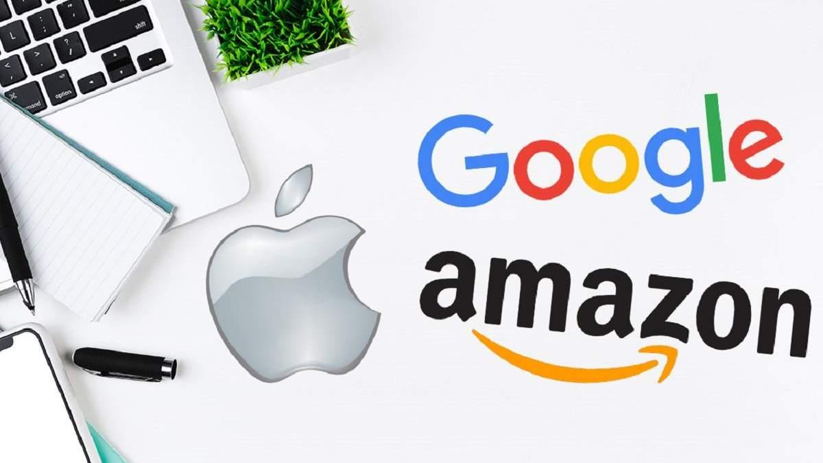 Ціни на послуги Google, Amazon та Apple у Європі зростуть