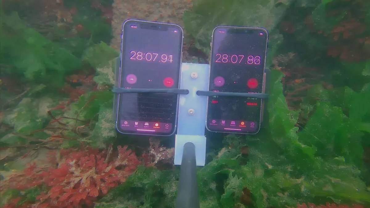 iPhone 11 і 11 Pro занурили під воду на 8 місяців - аони продовжують працювати