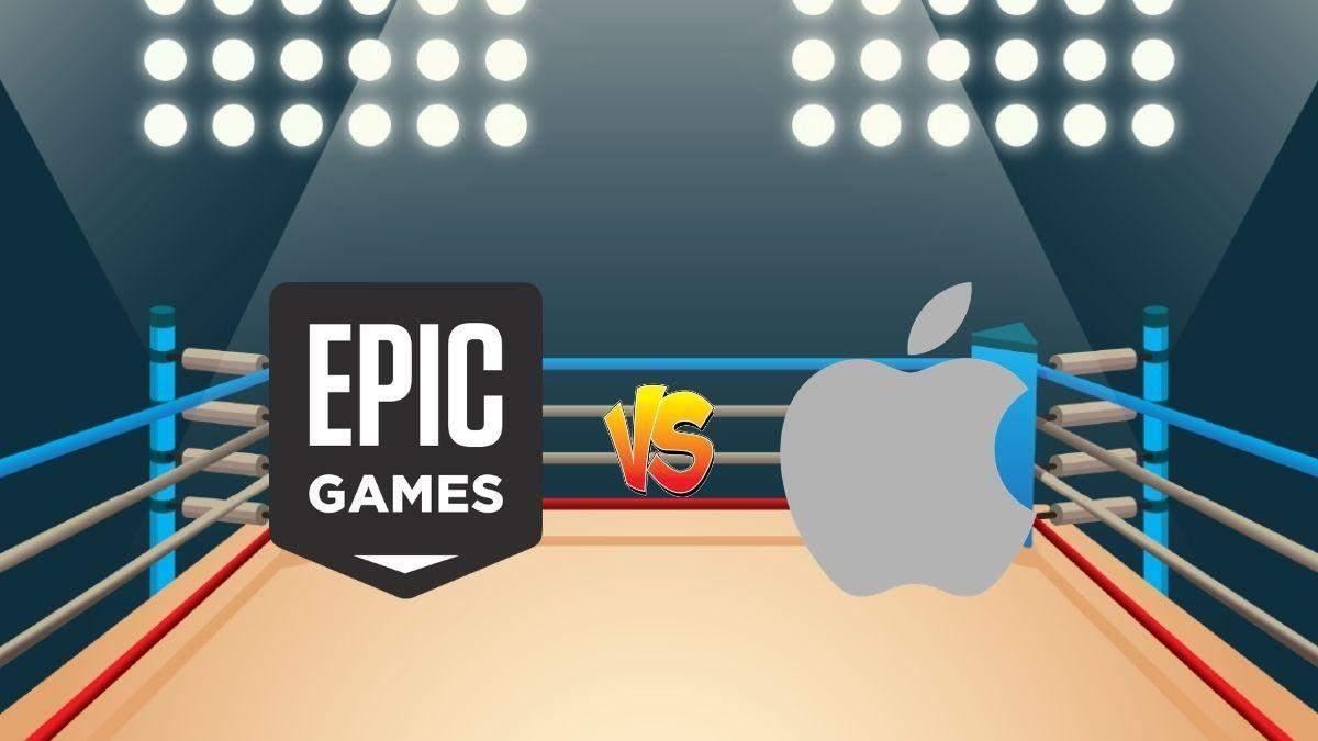 Спор Apple и Epic Games продолжается