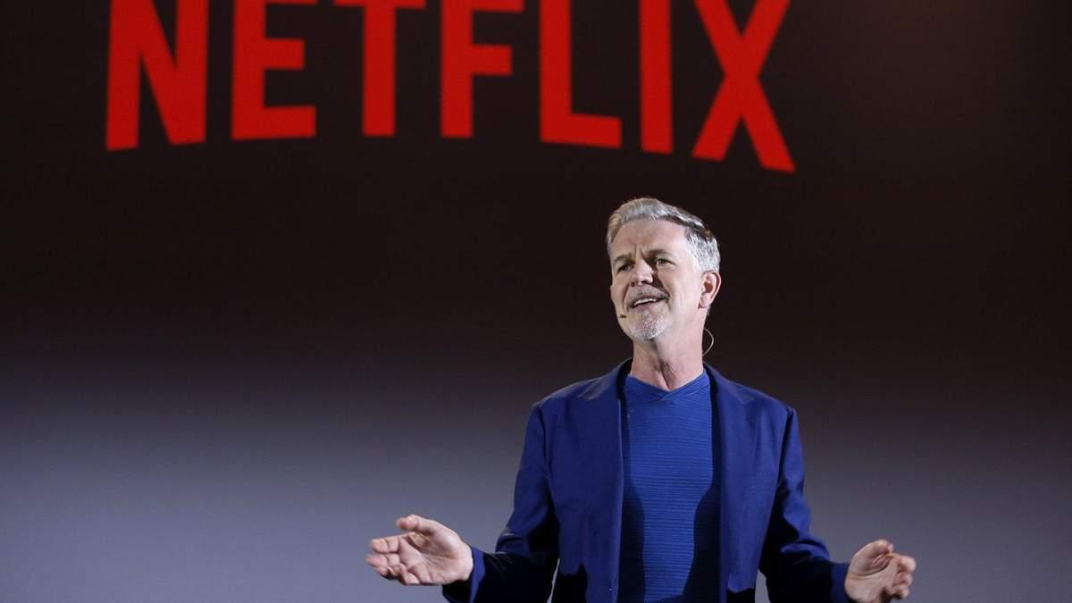 Глава Netflix Рід Хастінгс