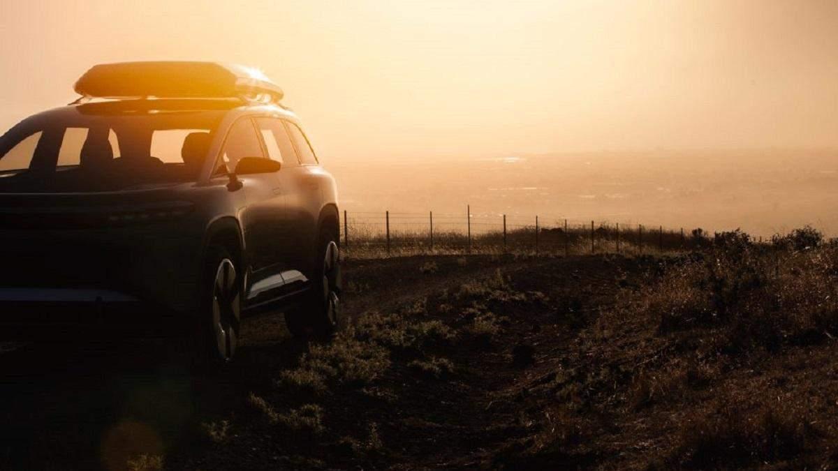 Lucid Motors показала електричний позашляховик, який складе конкуренцію Tesla Model X