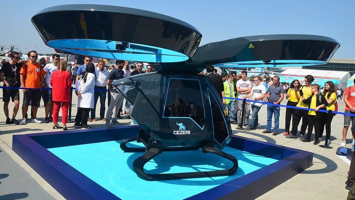 Летающий автомобиль Cezeri