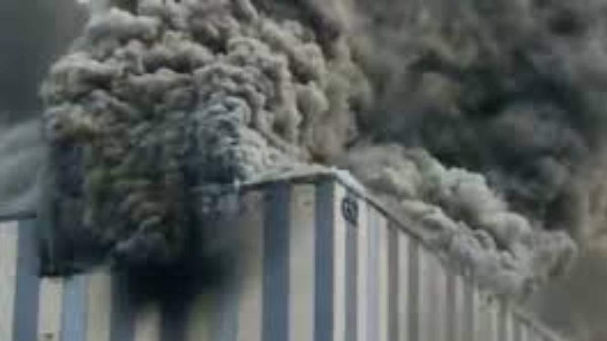 Пожар на производстве Huawei 25 сентября 2020 – видео, фото