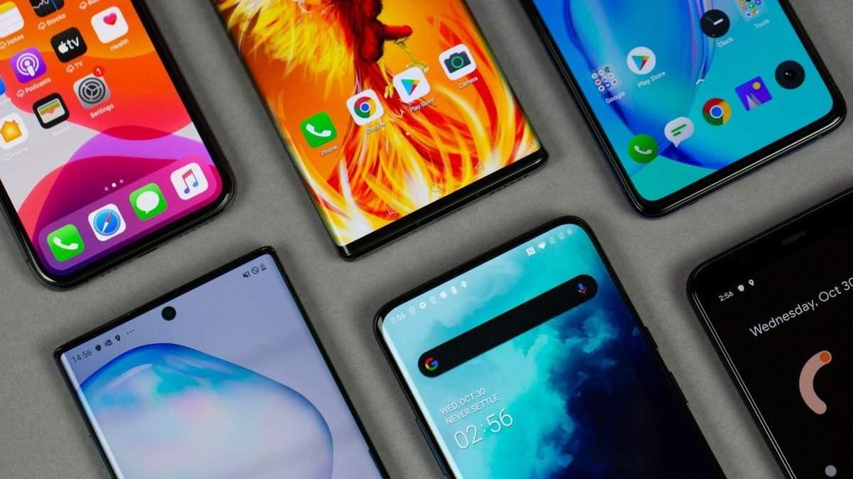 Аналітики назвали найпопулярніші бренди смартфонів за другий квартал 2020 року