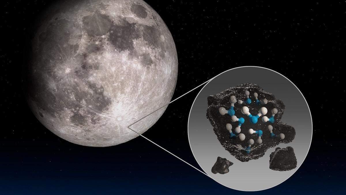 NASA подтвердило наличие воды на Луне