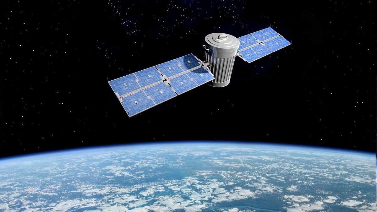 В Европе спроектируют аппарат для уборки космического мусора