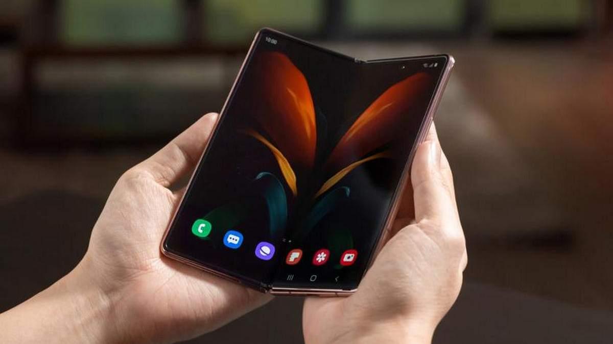 Samsung готовит складной смартфон