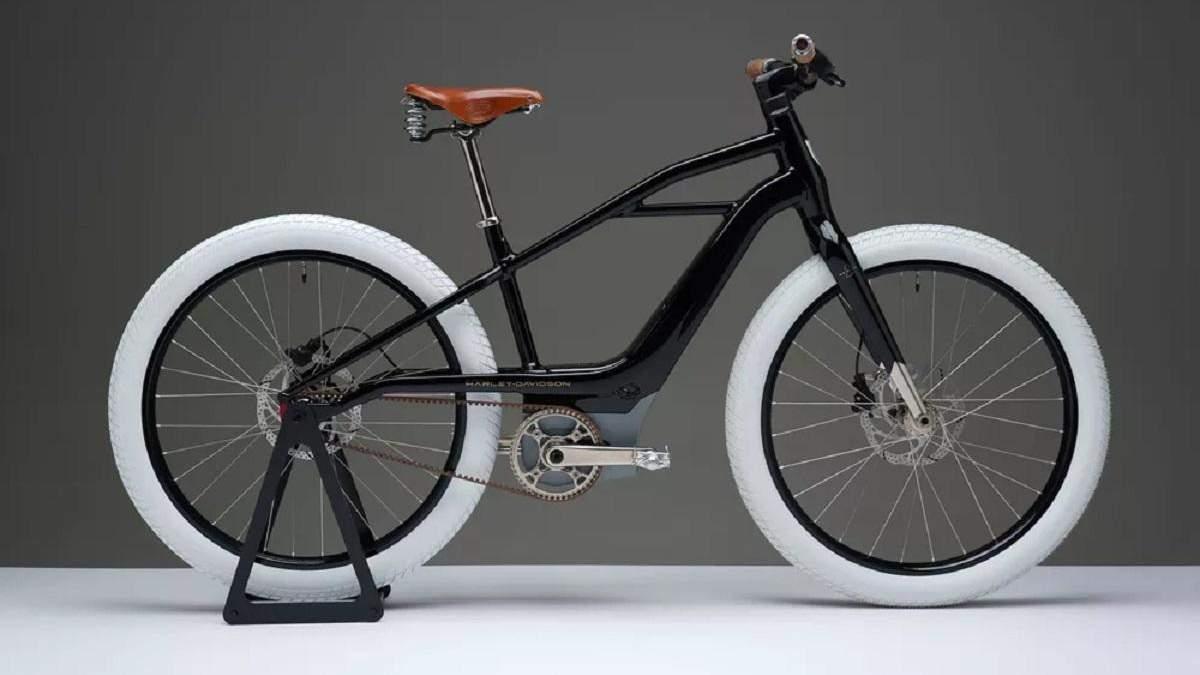 Harley-Davidson представила електровелосипед в ретро-дизайні