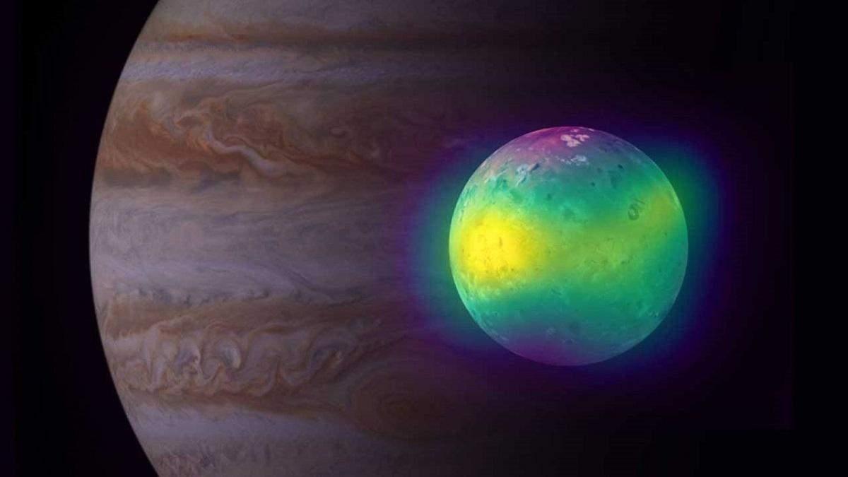 Астрономи зняли на відео вулканічну активність супутника Юпітера