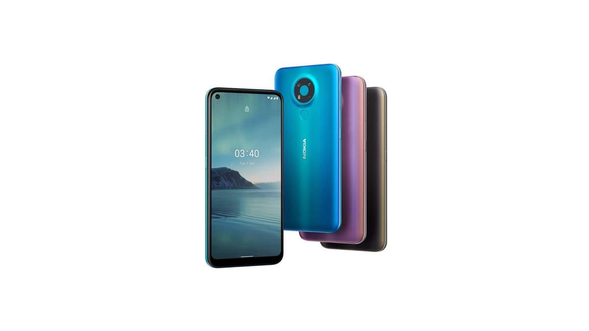 Nokia 3.4 поступил в продажу в Украине: цена и характеристики