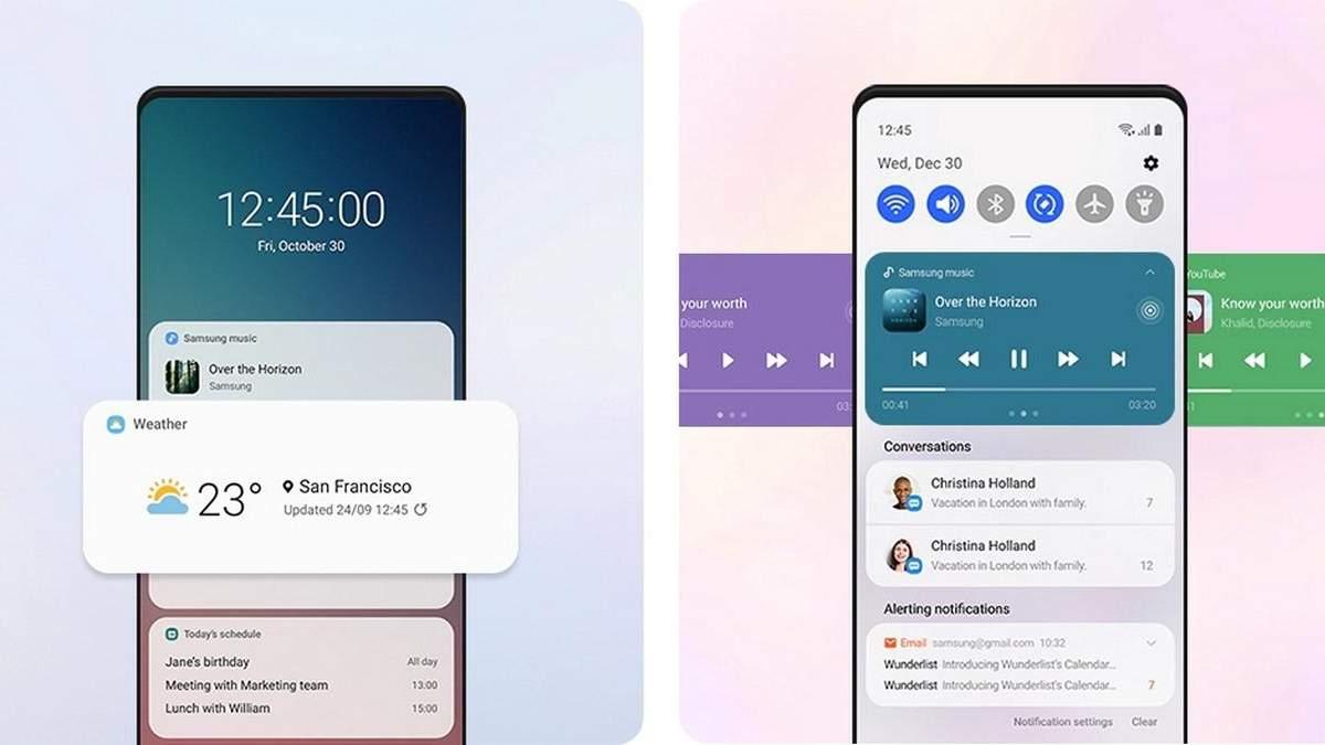 One UI 3.0 для Samsung Galaxy S20, Note 20, Tab S, Новости Samsung