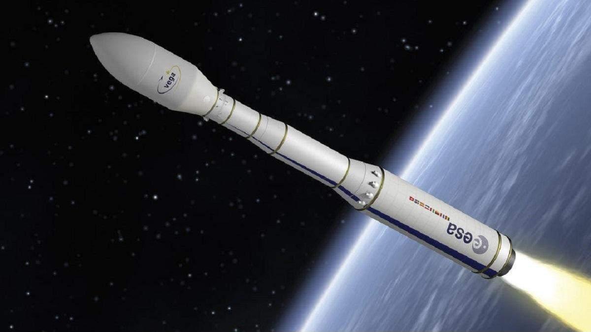 ESA втратили ракету Vega та два супутники під час запуску