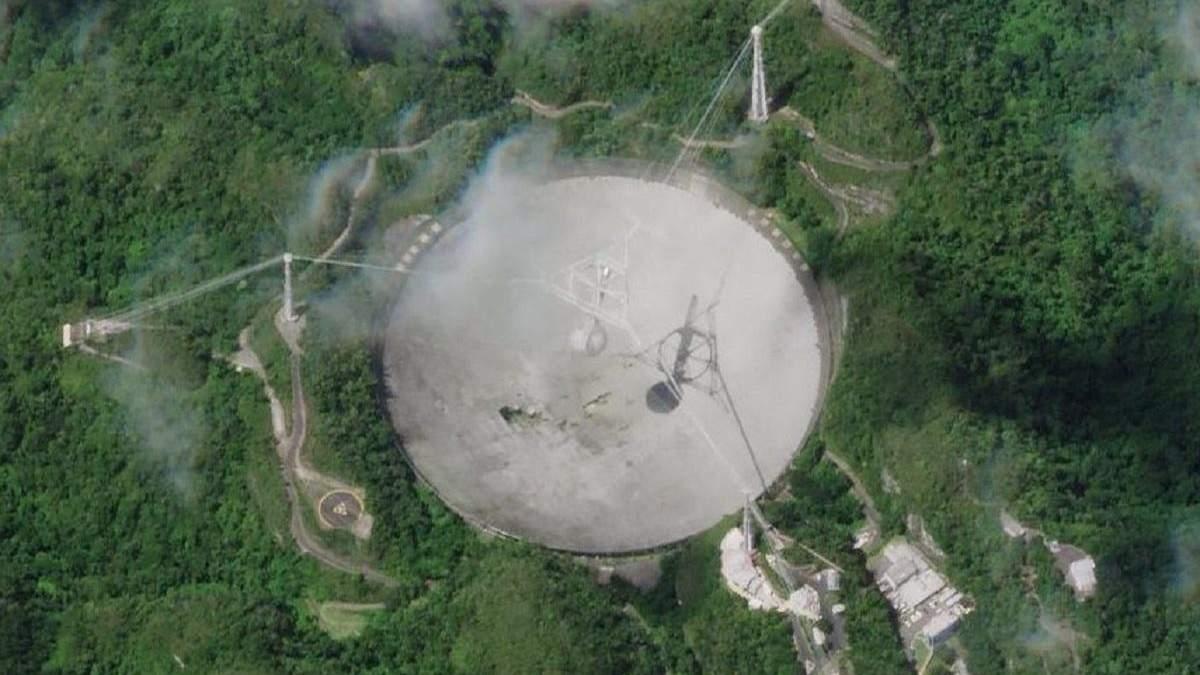 Обсерваторию Аресибо выведут из эксплуатации