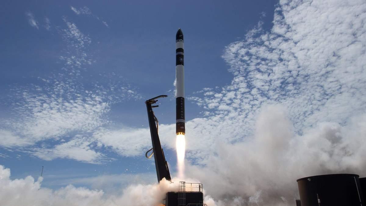 Rocket Lab успішно запустила ракету Electron: відео