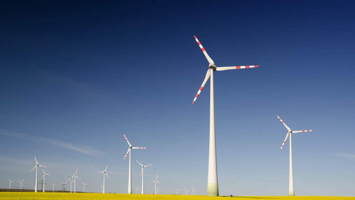 В Україні побудують дві вітряні електростанції