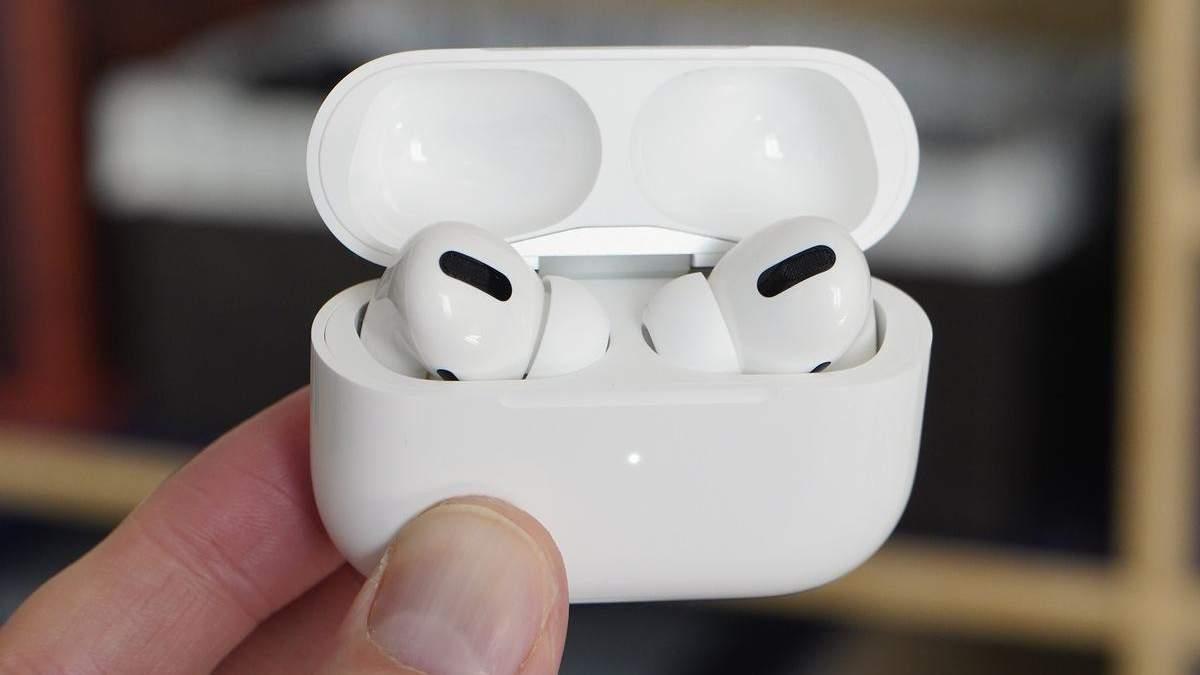 AirPods Pro: ціну на фірмові навушники Apple істотно знизили