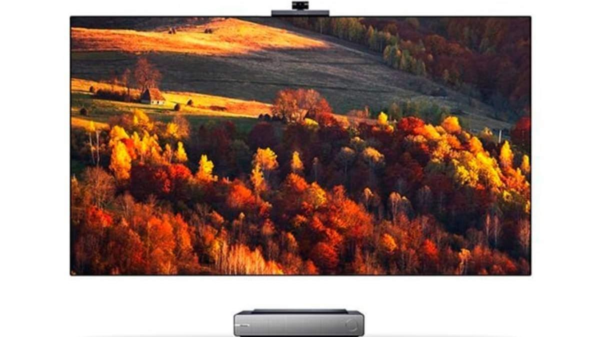 Hisense выпустил лазерный телевизор с камерой с ИИ