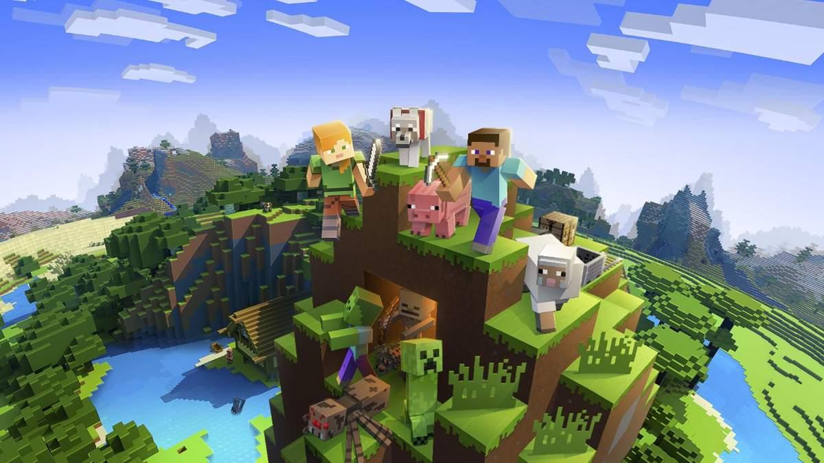 Музей головних подій 2020 року у Minecraft: відео