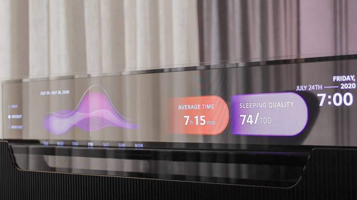 LG презентувала прозорий телевізор, що можна заховати у меблях