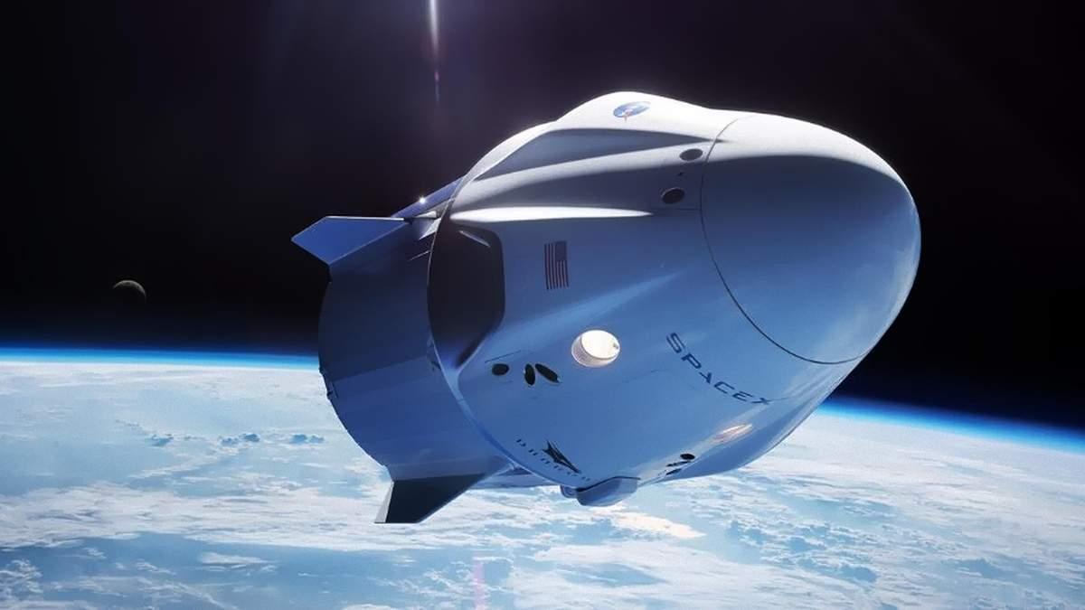 SpaceX Dragon успешно отстыковался от МКС и направляется к Земле
