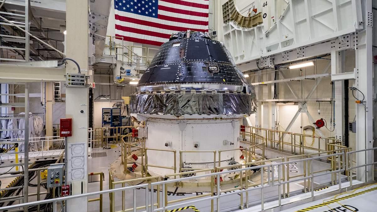 Первый космический корабль Orion готов к лунной миссии NASA