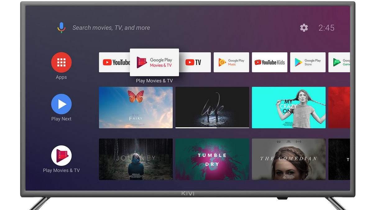 KIVI представила лимитированную серию TV для украинского рынка