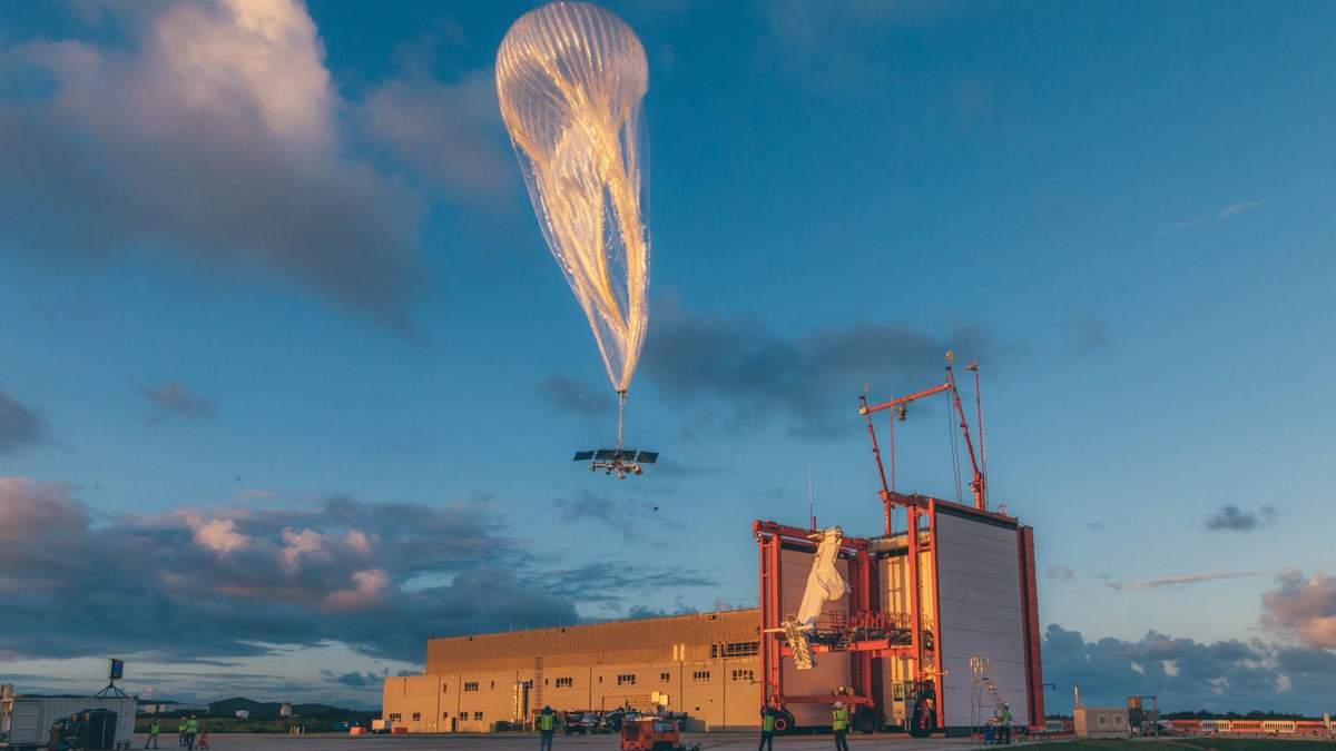 Google закрывает Loon - воздушные шары, которые раздавали интернет