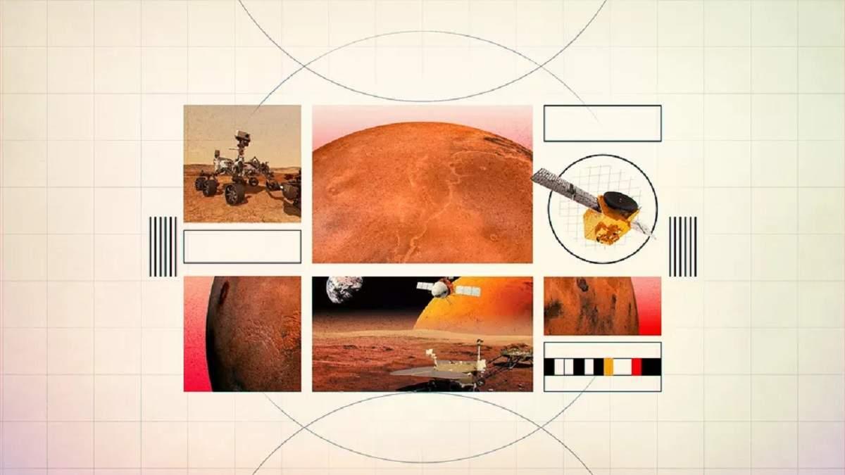 Осталось две недели: к Марсу долетят одновременно космические аппараты сразу трех стран