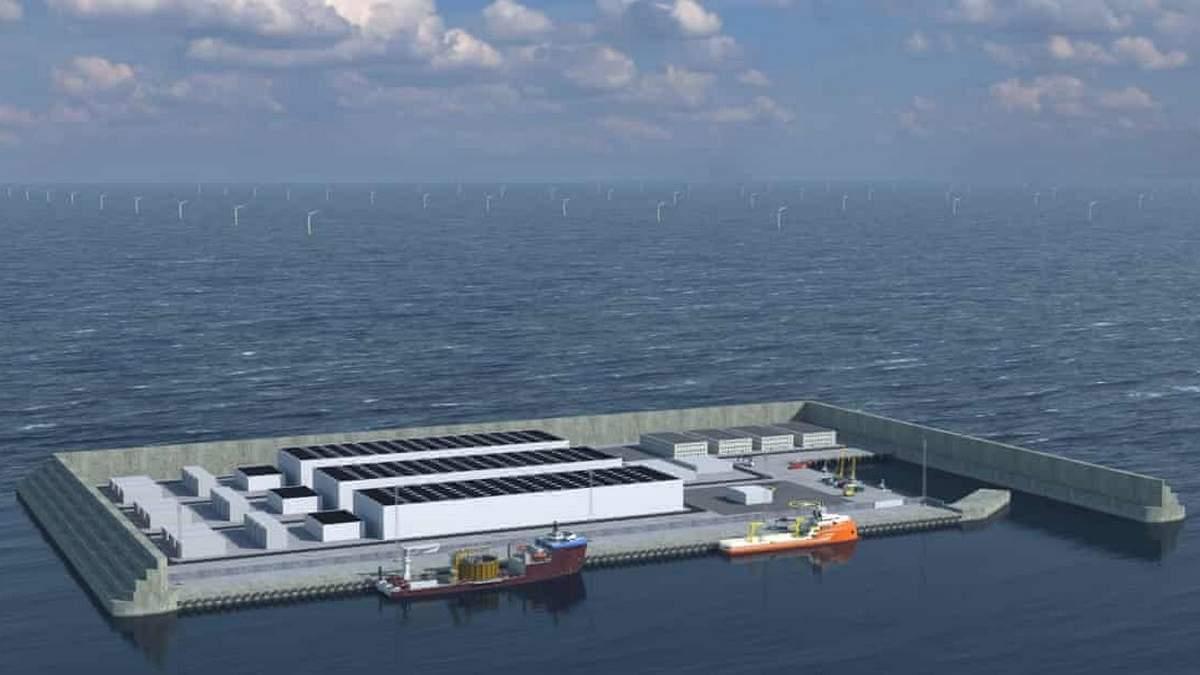 Данія створить штучний острів у Північному морі: для чого він потрібен