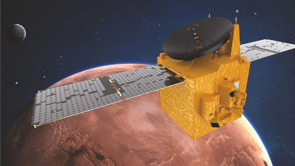 Hope Mars успешно вышел на орбиту Красной планеты