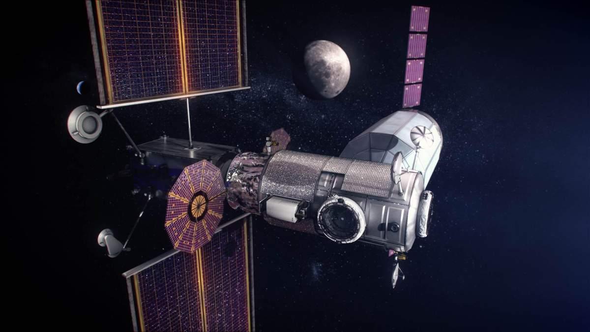 NASA выбрало SpaceX для доставки первых модулей лунной станции Lunar Gateway на орбиту