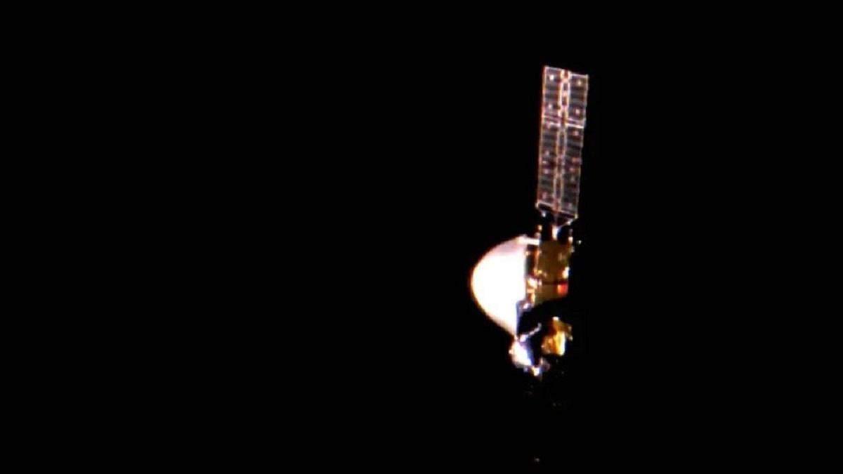 """Китайский зонд"""" Тяньвэнь-1"""" прислал первое видео с орбиты Марса"""