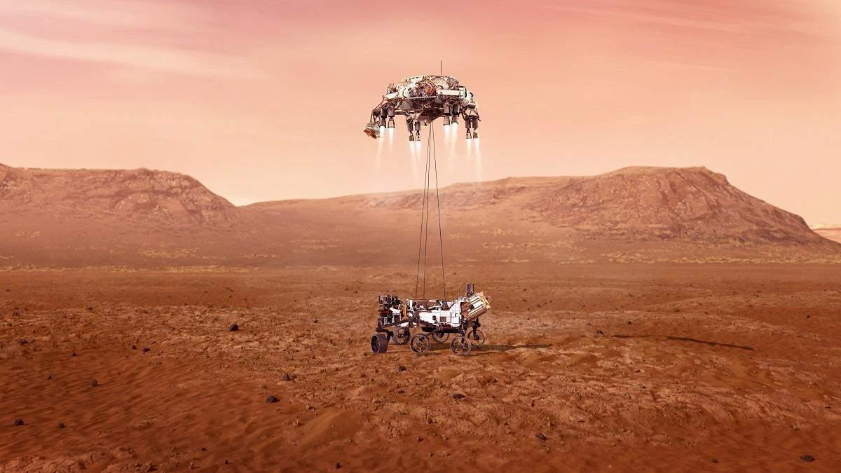 Perseverance сідає на Марс: все про місію NASA на Марсі