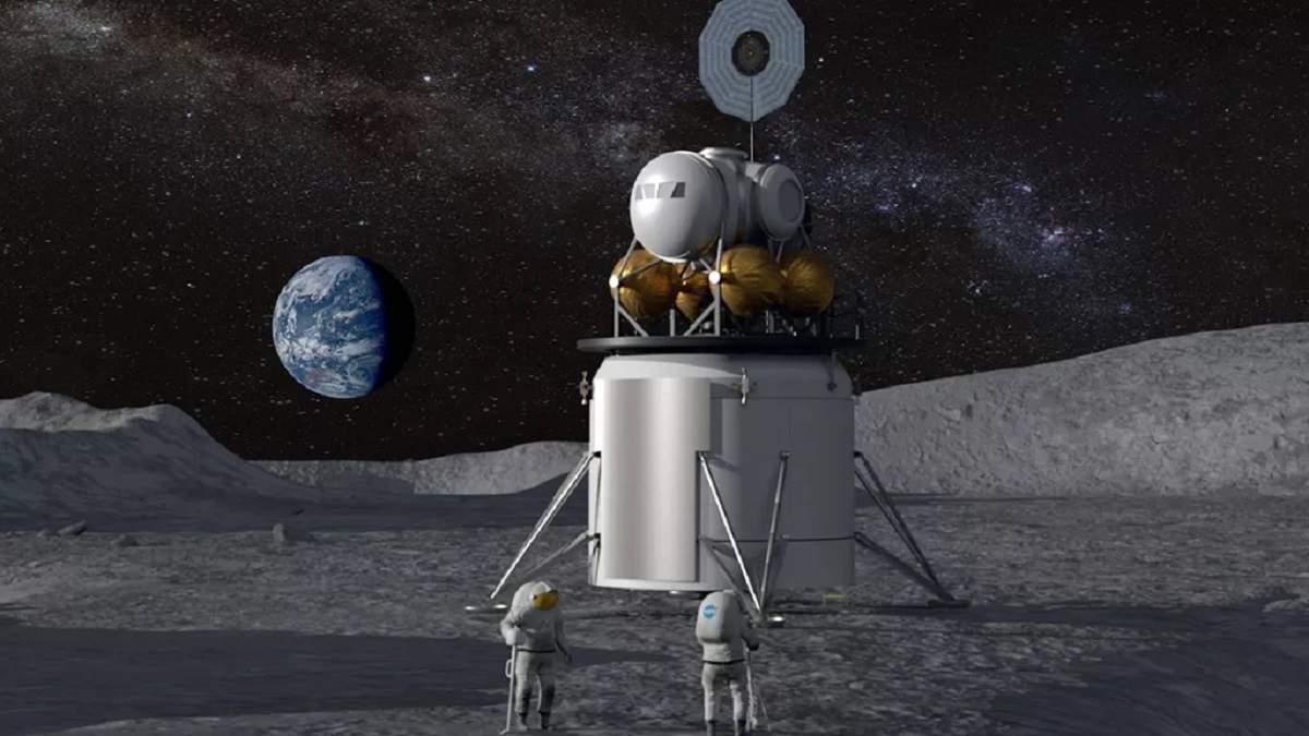 Ілюстративне фото висадки людини на Місяць