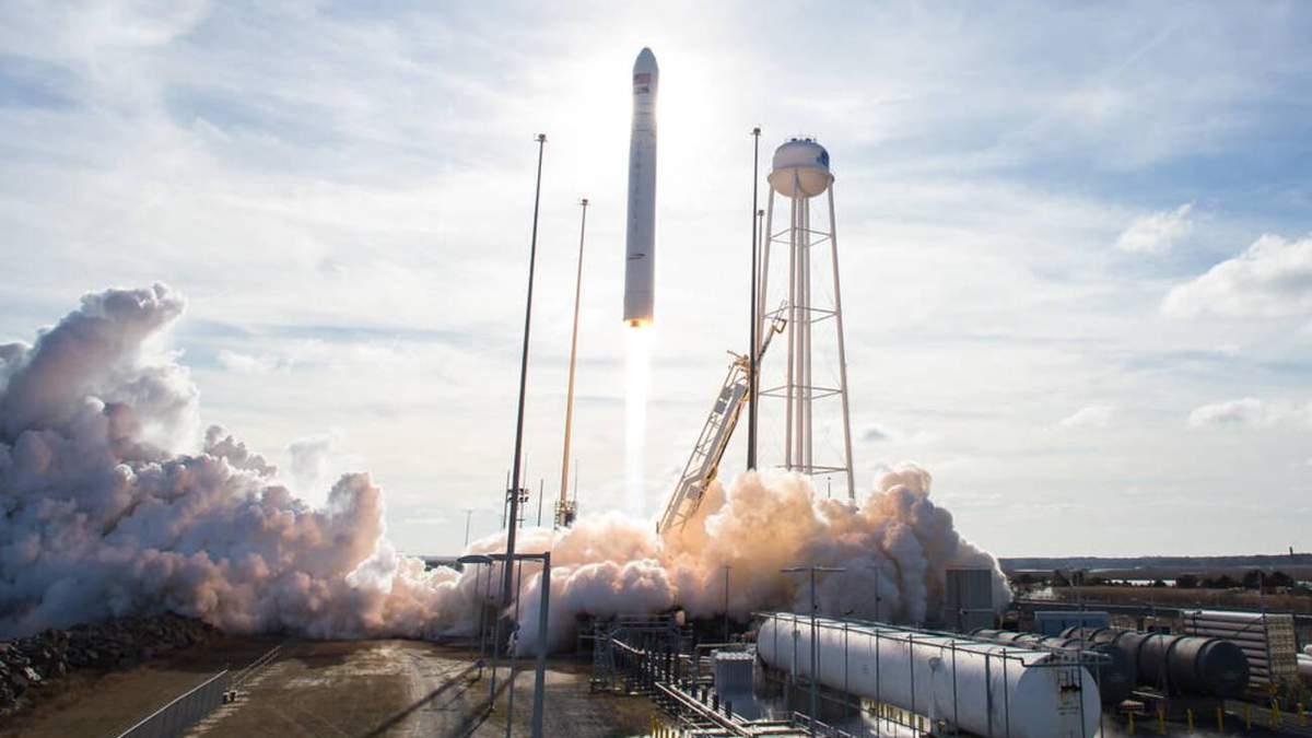 Українсько-американська ракета Antares вивела в космос корабель