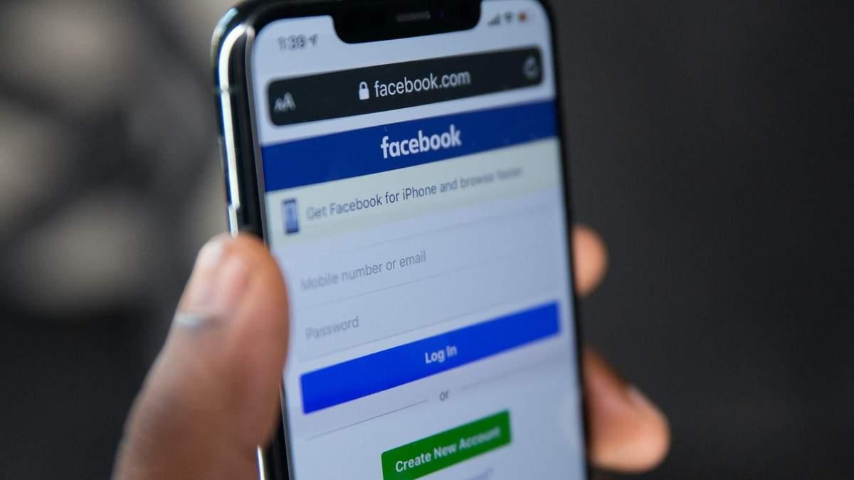 Facebook блокує пости про користь вакцинації