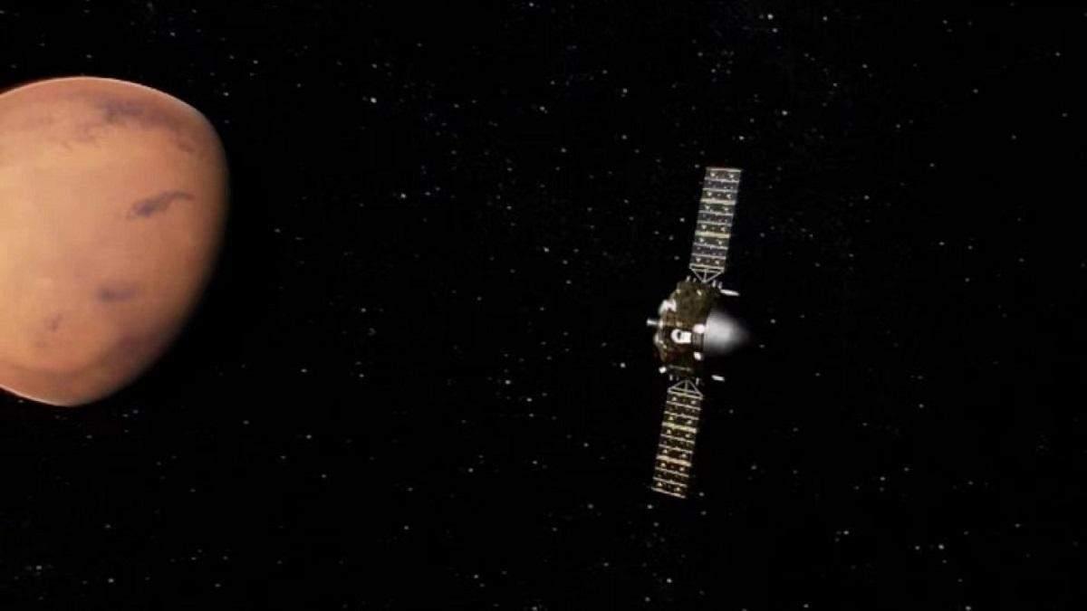 """Китайский космический аппарат """"Тяньвэнь-1"""" вышел на опорную орбиту Марса"""