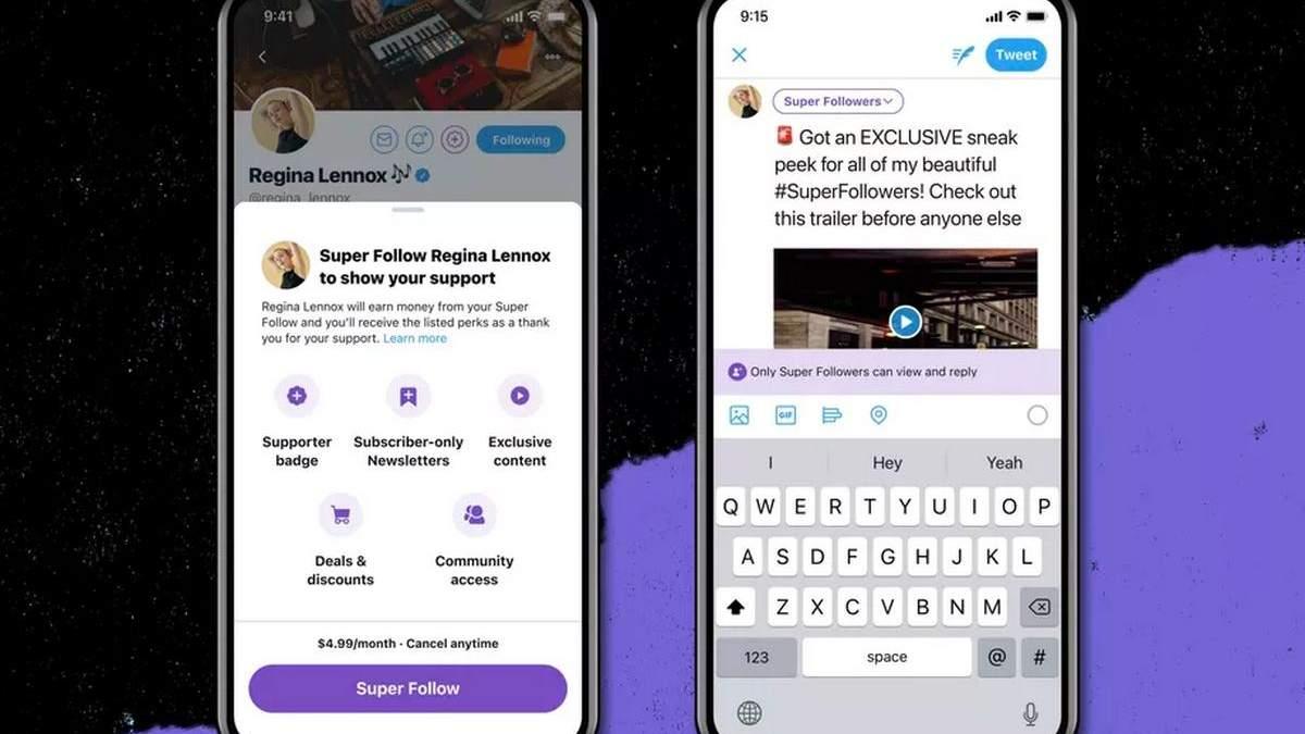 У Twitter з'явиться платна підписка за 5 доларів на місяць та нові корисні функції