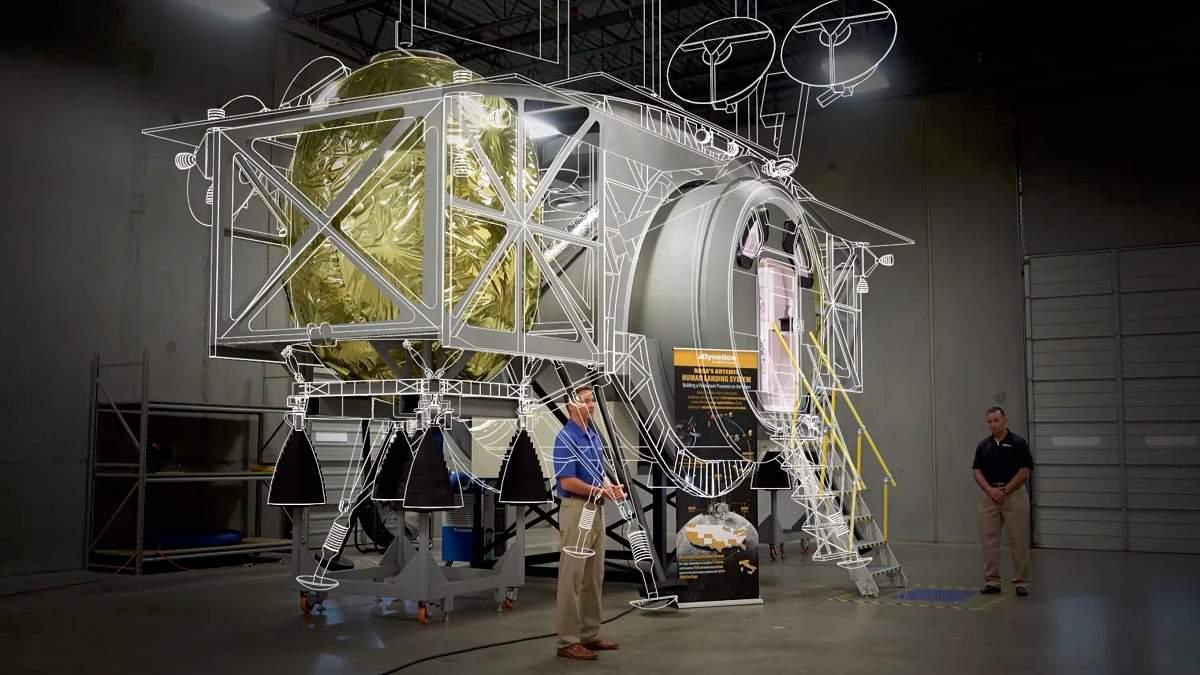Dynetics приступит к детальной разработке лунного посадочного модуля