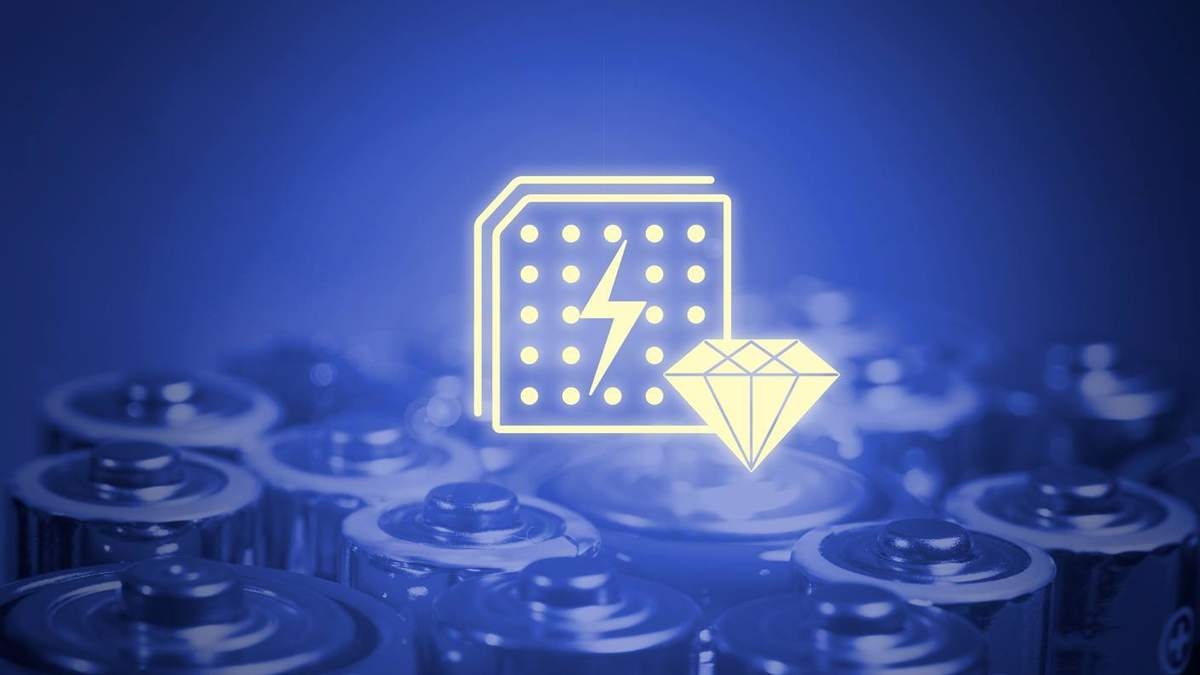 Японцы создают батарейки на искусственных алмазах, которые смогут работать сто лет