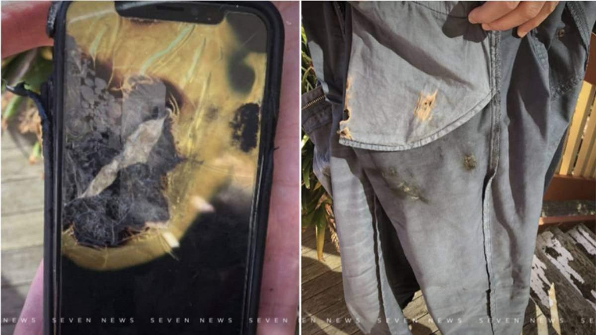 iPhone X вибухнув у кишені власника