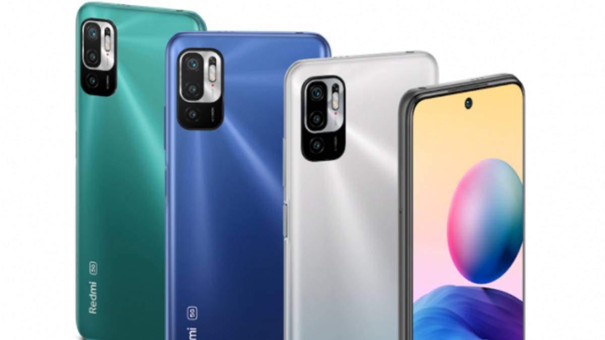 Redmi Note 10: Xiaomi представила бюджетную линейку смартфонов, цена в Украине
