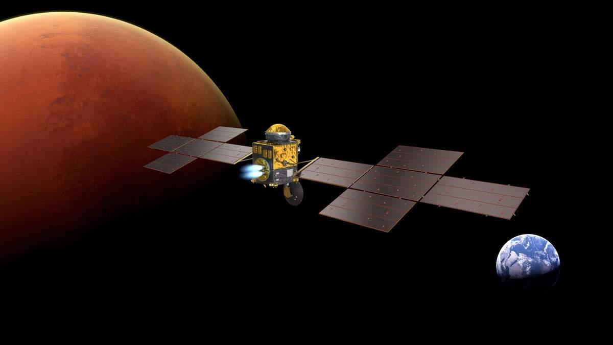 NASA нашла производителя двигателя для ракеты, которая заберет образцы грунта с Марса