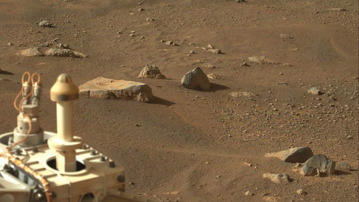 "Ровер Perseverance зафиксировал на Марсе ""пылевого дьявола"": видео"